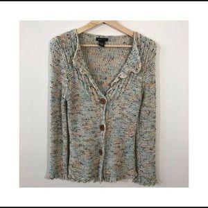Bcbgmaxazria knit cardigan sweater XL